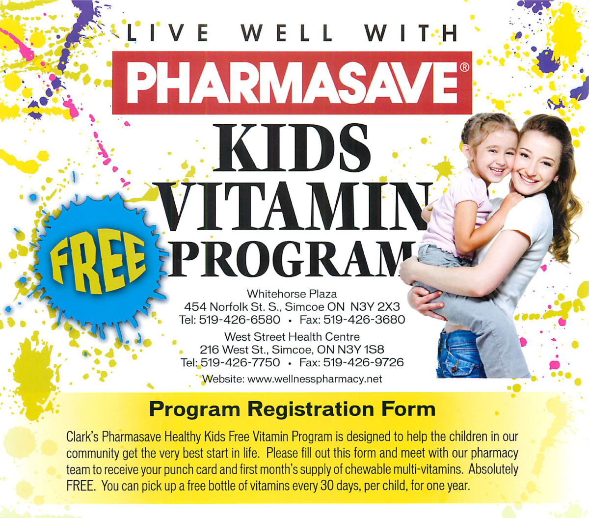 Kids Vitamin Program